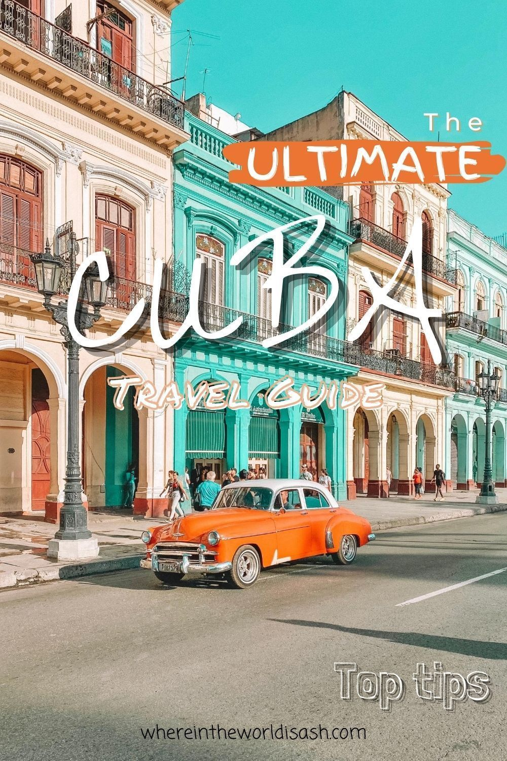 Click here to find out my top tips for travel to Cuba! Accommodation | Casa Particulars | Transport | Currency | WiFi | Staying Hydrated | Learn Some Spanish | Solo Female Travellers | Cuba Travel Guide By Triposo | Jetlag | Photos |   #cuba #travelcuba #explorecuba #caribbeantravel #explorecaribbean #centralamerica #caribbean #centralamericatravel #explorecentralamerica #cubatravel #travel #solofemaletravel