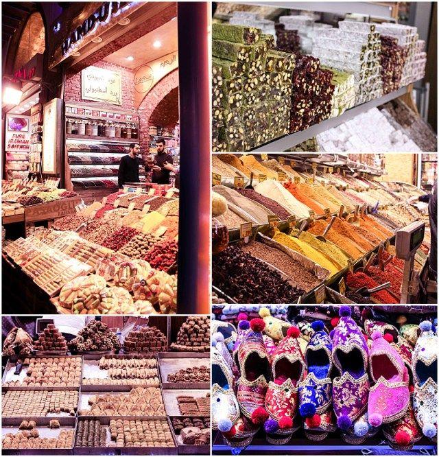 Istanbul's spice market: can I take it all home? www.NewlyfledsBlog.com