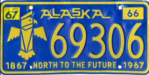 alaska state motto bing images travel pinterest alaska plates et alaska travel. Black Bedroom Furniture Sets. Home Design Ideas