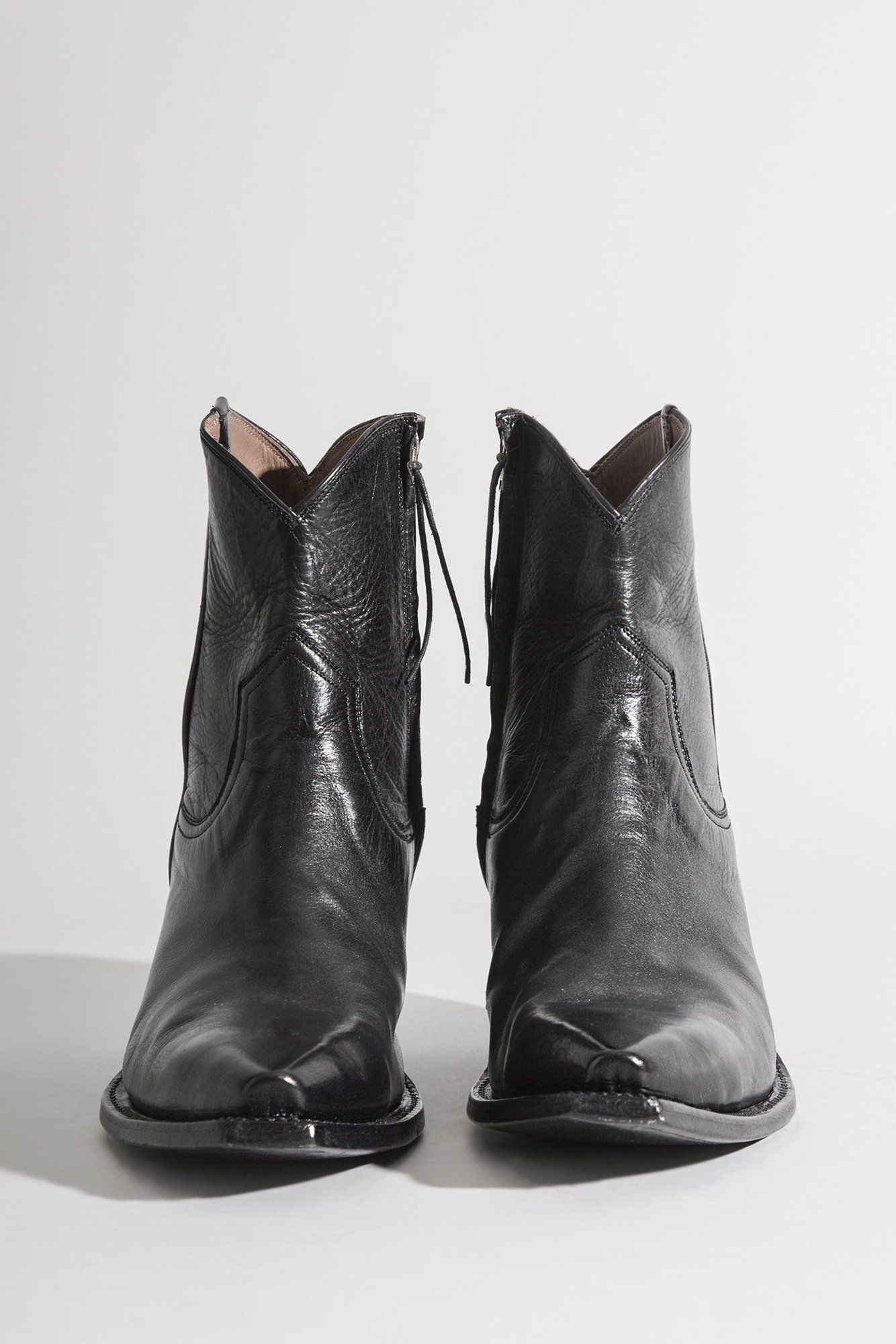 Cowboy Ankle Boot - Black in 2020