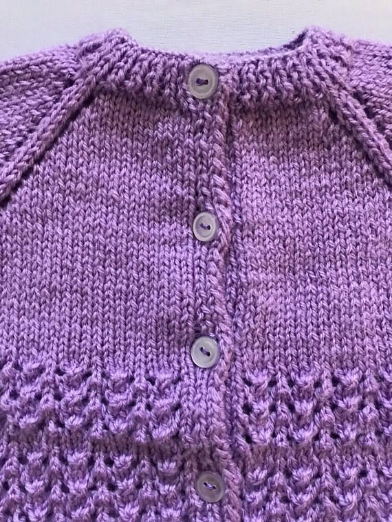 Hand Knitted Baby Girl Cardigan Baby Girl Cardigans And Knitted Baby