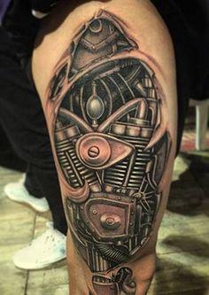 Fotos Tatuajes Biomecanicos tatuajes biomecanicos en 3d | tattoos with machine | pinterest