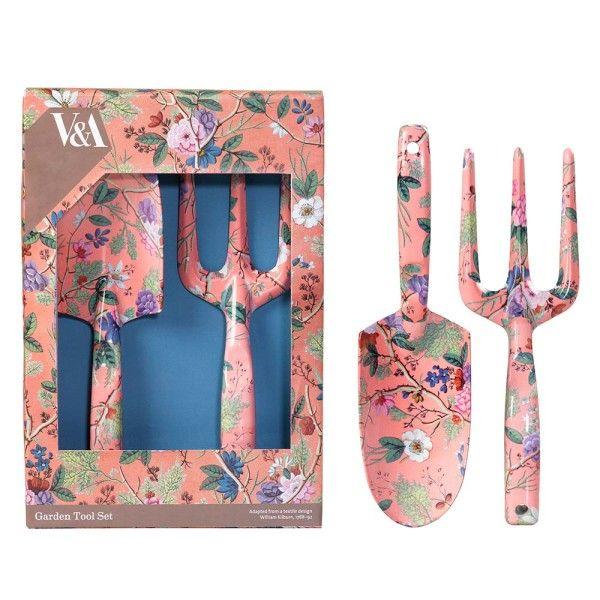 V&A Fork and Trowel Set - Kilburn Coral in 2020 | Garden ...