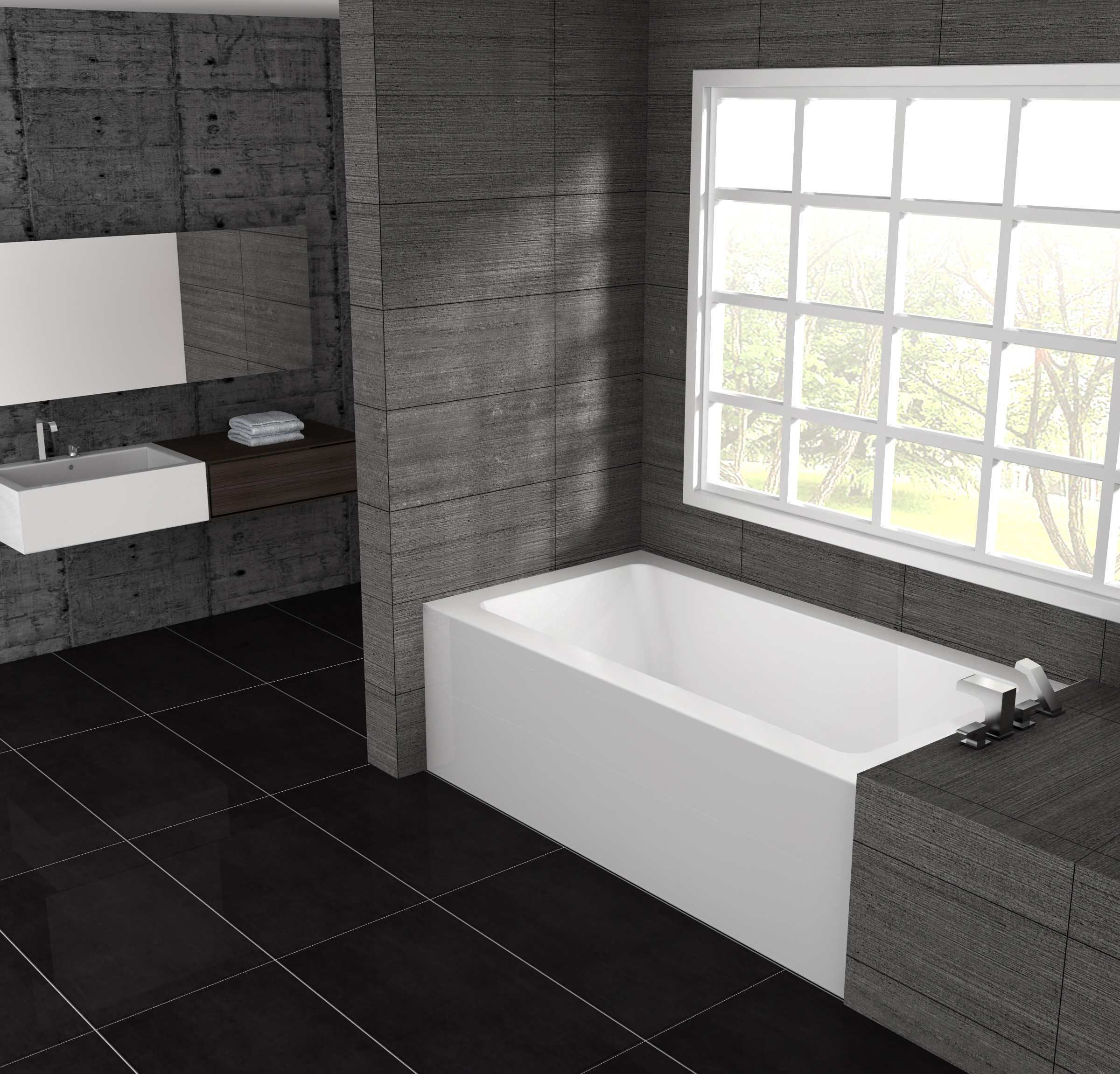 Pure 60 L Bathrooms Remodel Bathtub Small Bathroom