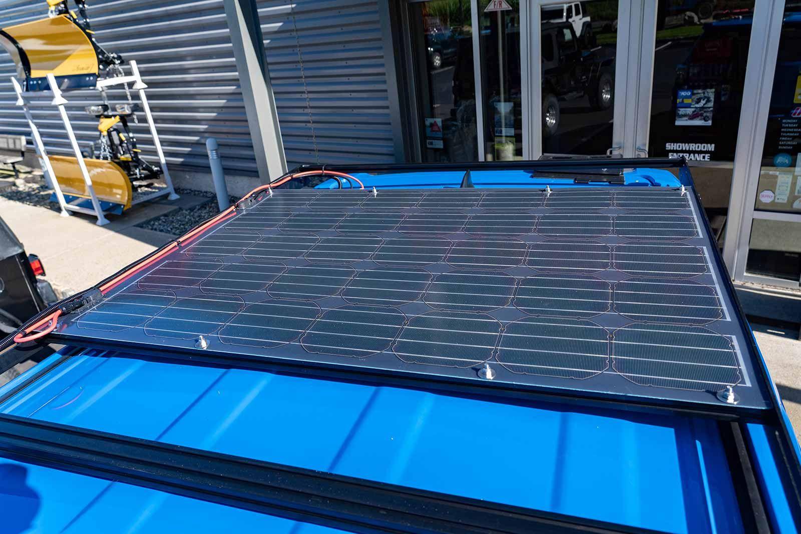 Sunflare 105w Flexible Solar Panel Solar Panels Flexible Solar Panels Solar