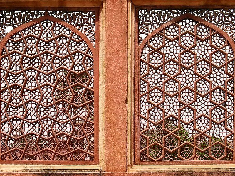 Mughal window jali (screen) | Jali Work | Pinterest ...