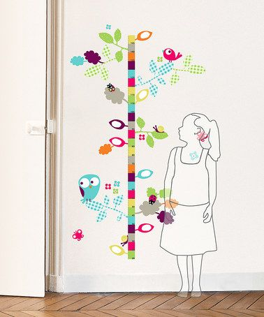Take A Look At This Bird Growth Chart Wall Decal Set By Nouvelles