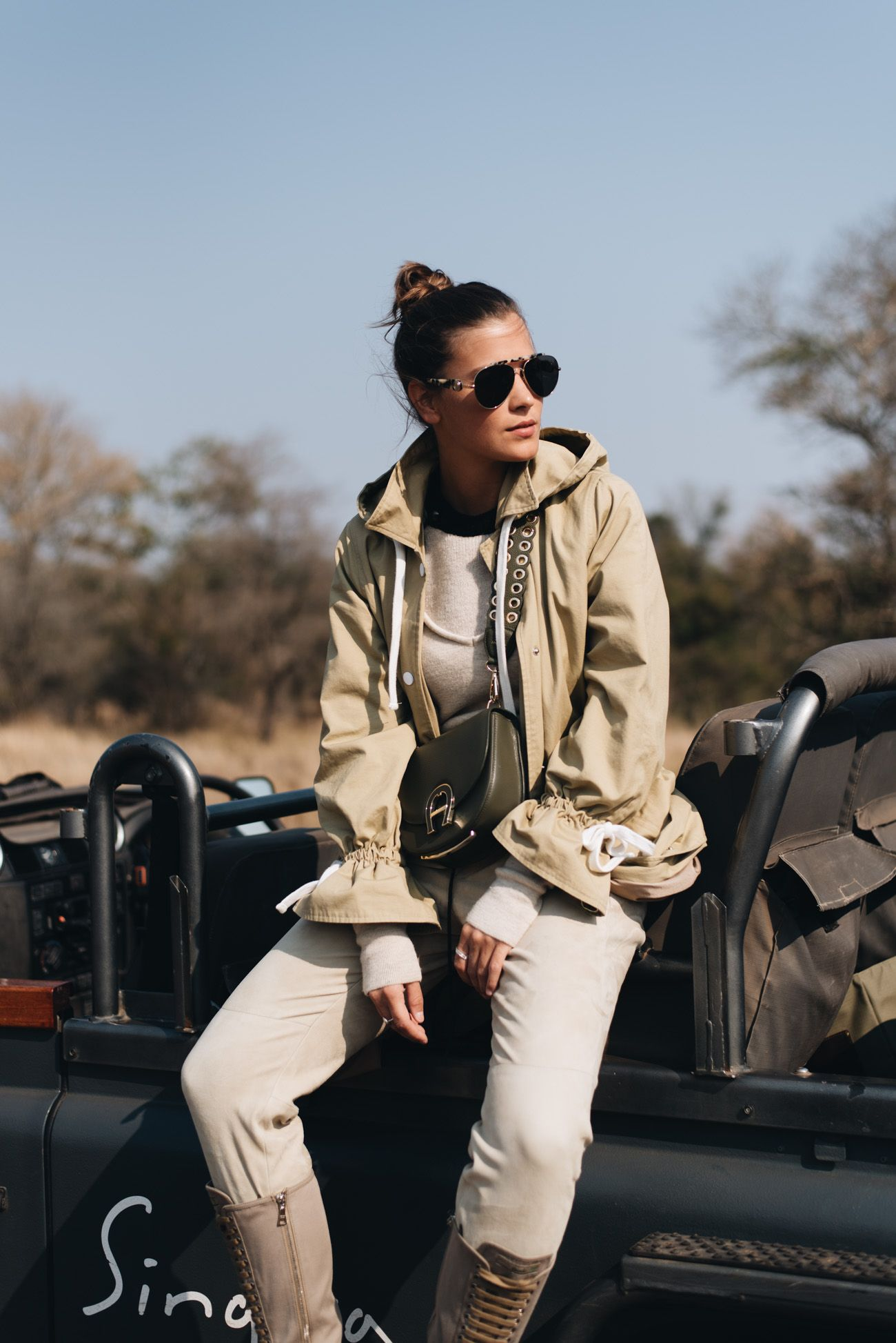 Outfit: Africa Safari Outfit im Krüger Nationalpark mit