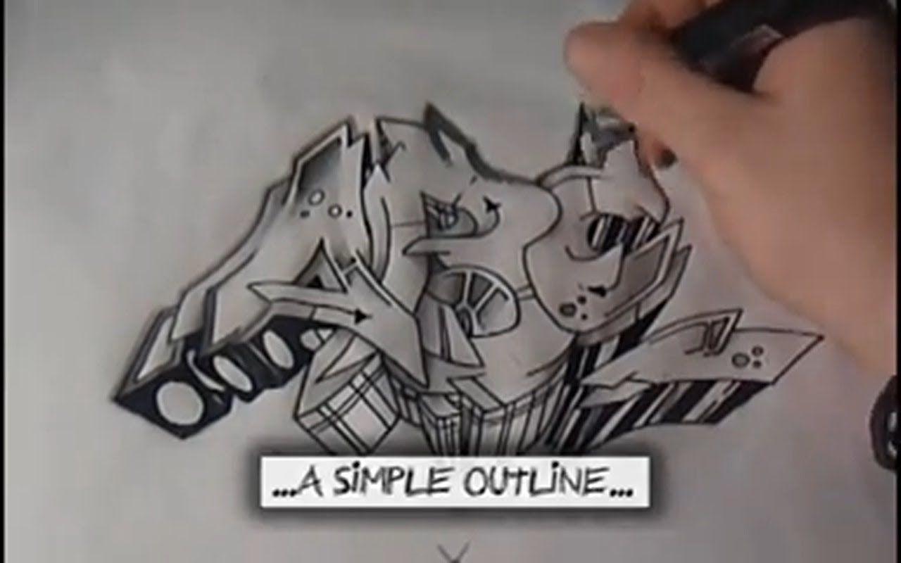 Graffiti Tutorial For Beginners Graffiti Letters For Beginners