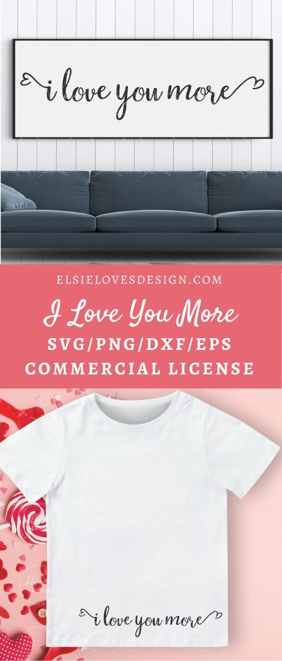 Download I Love You More Svg | Wedding Sign Svg | Husband And Wife ...