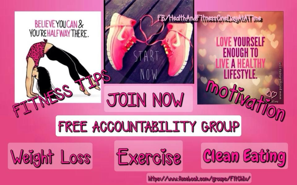 This FREE group will provide Motivation, Accountability, Recipes, Fitness Tips, Support, & the important tools you need along this journey! Request to JOIN NOW @ https://www.facebook.com/groups/FitChix/ #fitchix #cleaneating #healthylifestyle #fitness #accountability #motivation