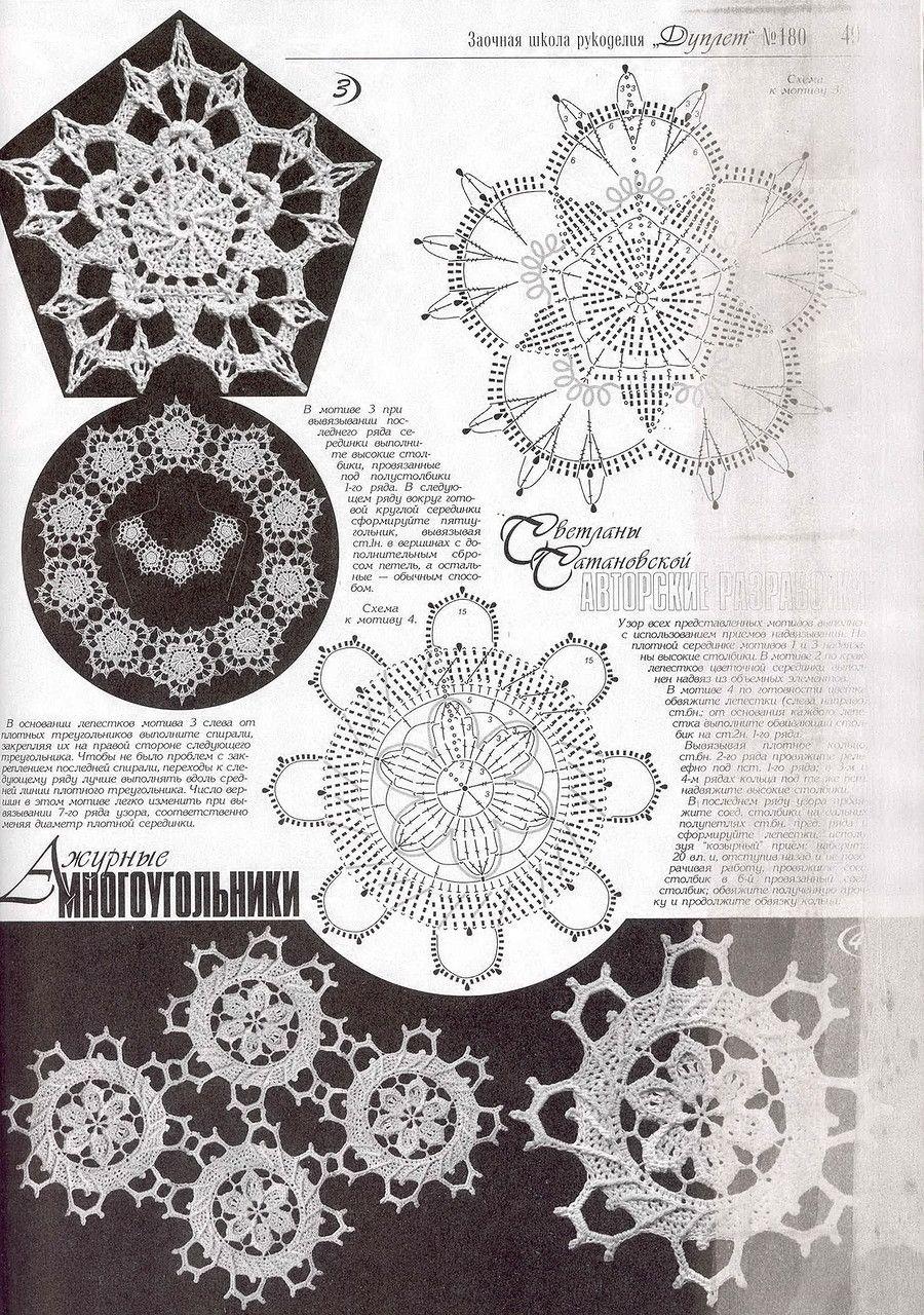 55.jpg   мотивы,узоры   Pinterest   Tapetes, Carpeta y Ganchillo