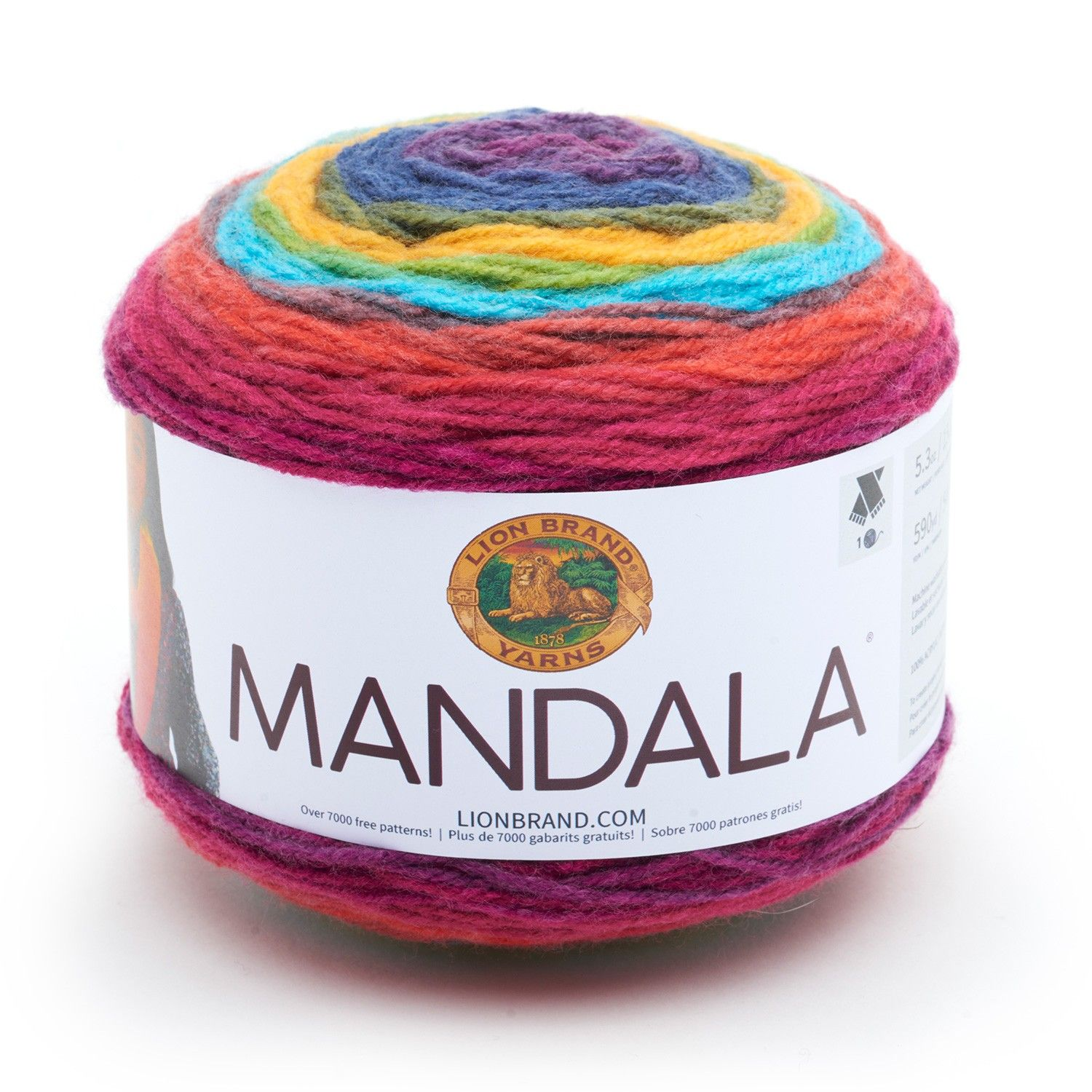Mandala® Yarn from Lion Brand | crochet vest | Pinterest | Lana
