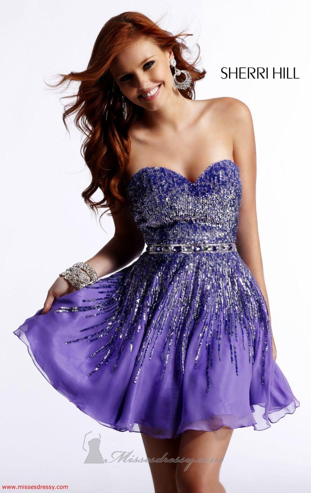 Sherri Hill 8413 Dress - MissesDressy.com