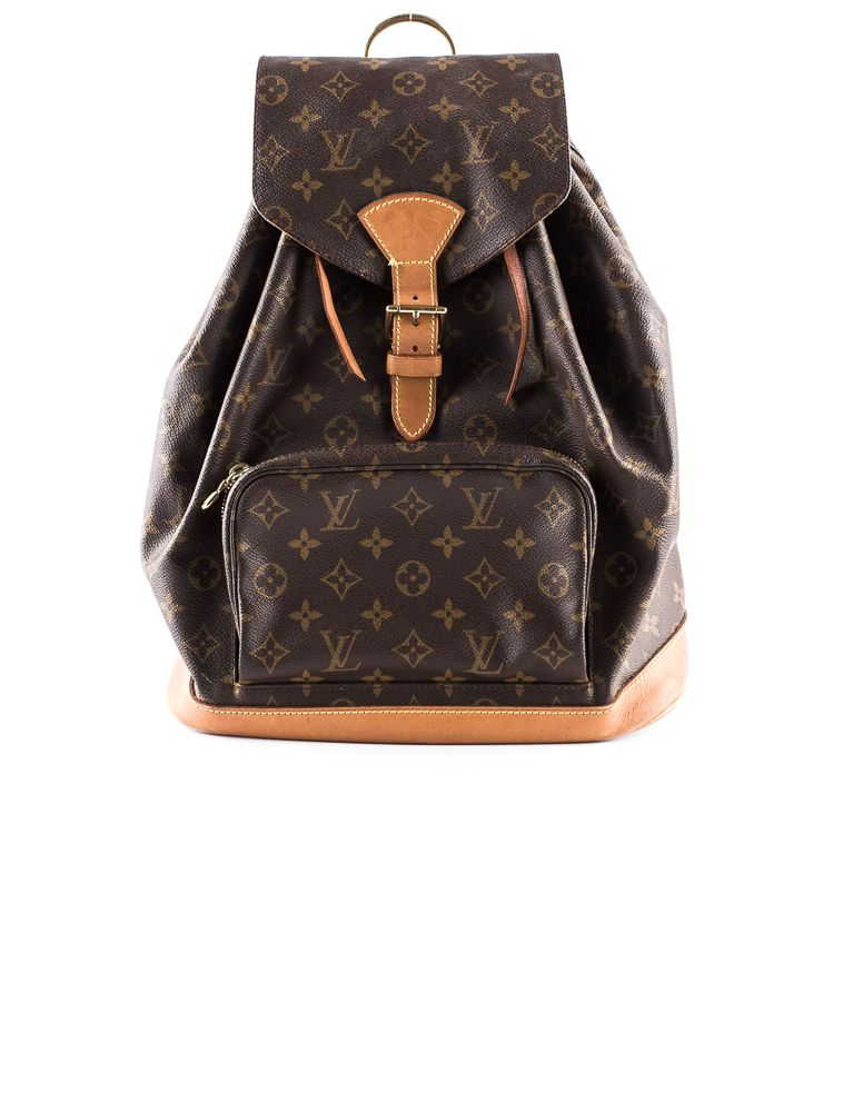 Still Up For Grabs Louis Vuitton Backpack Obsess Over It Now In Our Select Handbags Therealreal