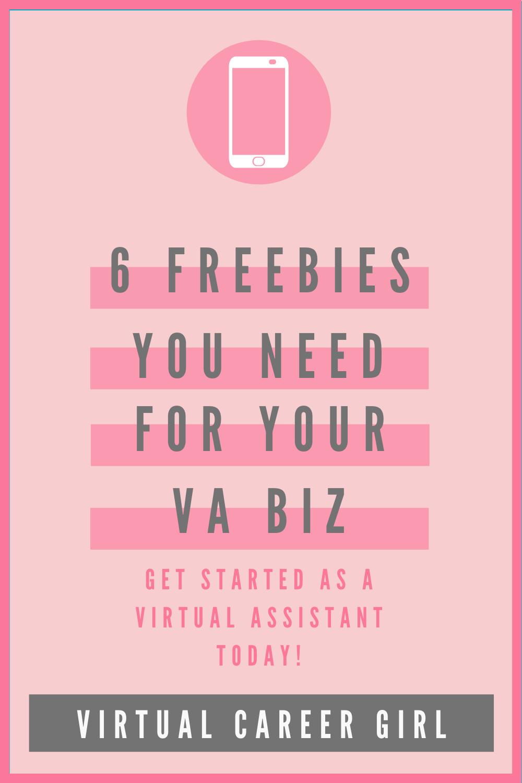 Freebie For Your VA Biz in 2020 Virtual assistant quotes