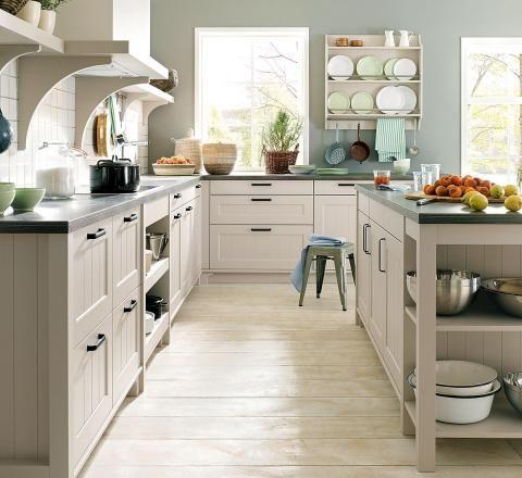 Wandfarben in der Küche Kitchens