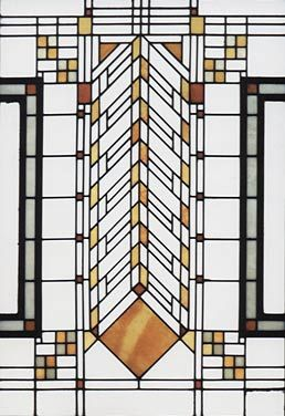 Stained Glass. William R. Heath House. 1904-5. Buffalo ...