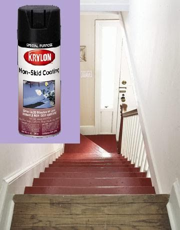A St Louis Realtor S Adventures Tips And Finds Household Tip Solution To Slippery Stairs Slippery Stairs Wooden Stairs Diy Stairs