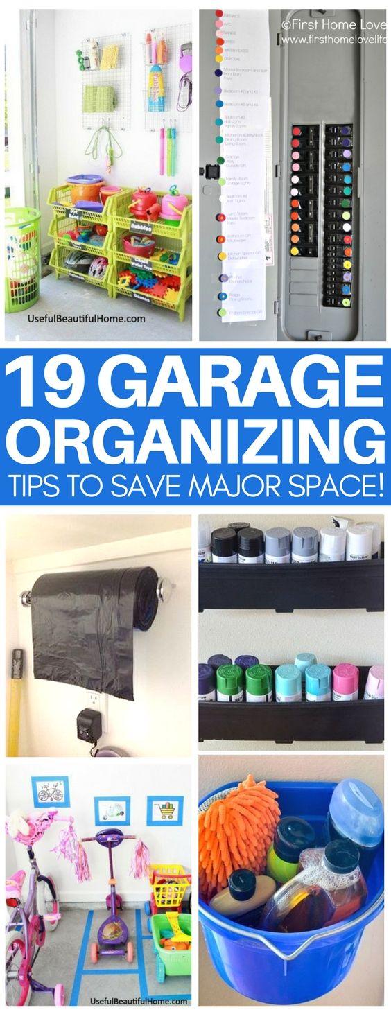 Inspirational Space Saving Garage Ideas