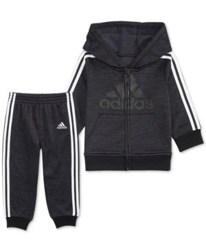 adidas Toddler Boys 2 Pc. Athletic Jacket & Jogger Pants Set