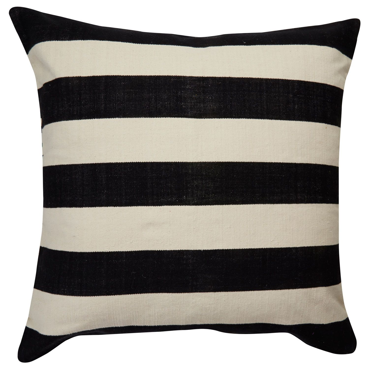 Kate Spade New York by Jaipur Yorkville Double Stripe Black Throw Pillow…