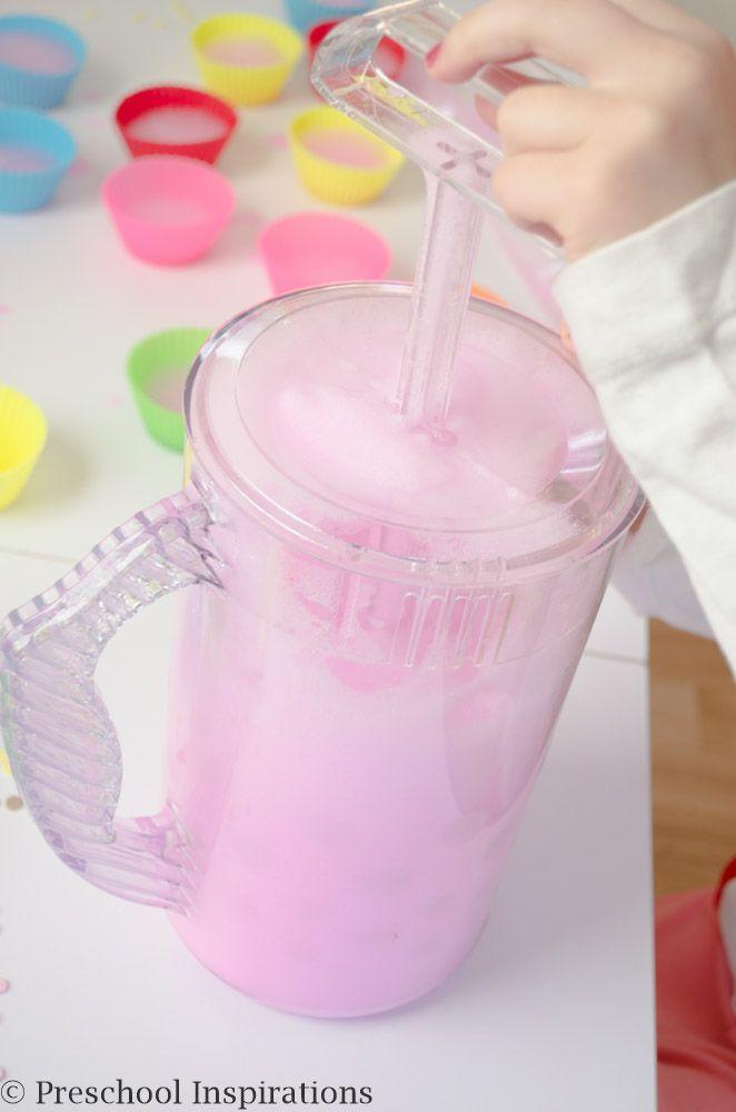Soap Foam Cupcake Station by Preschool Inspirations