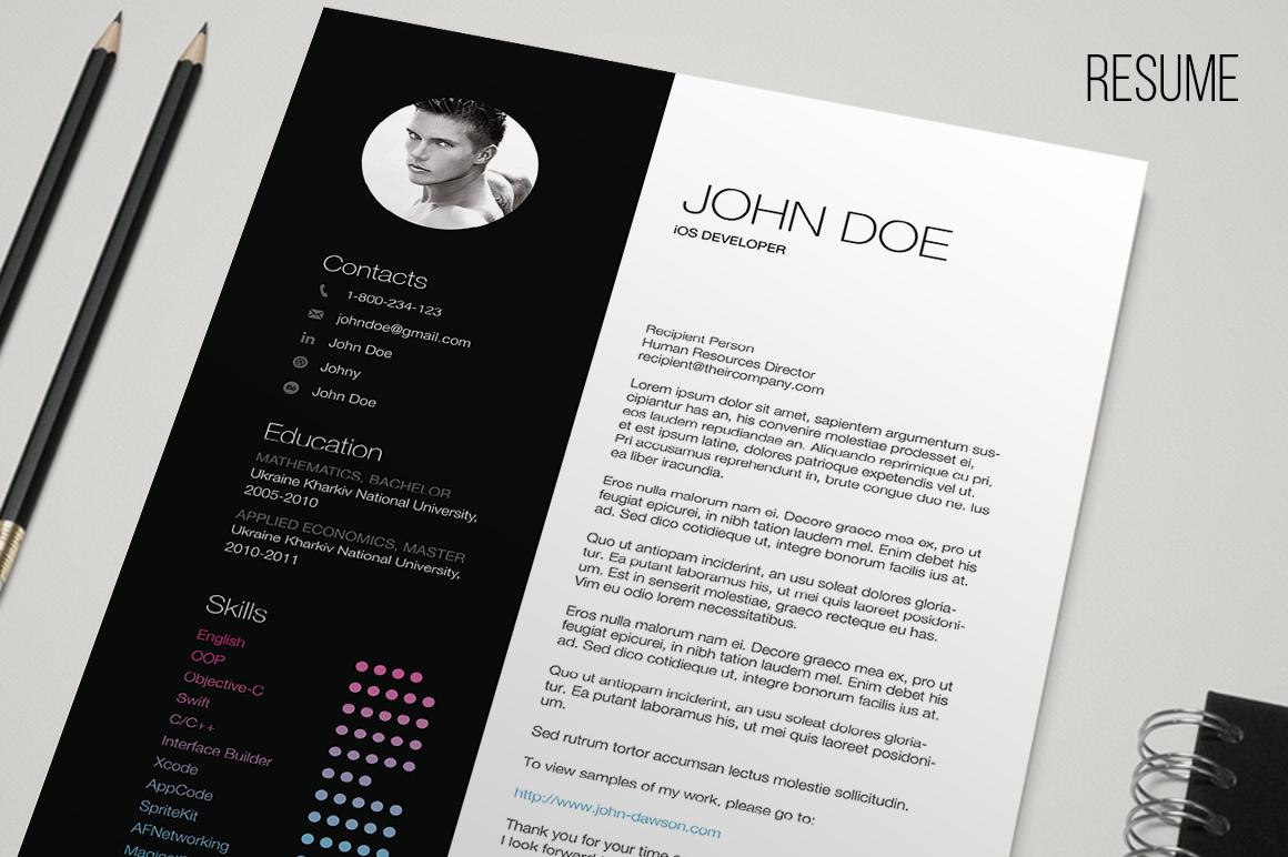 Free CV Resume Templates   HTML PSD   InDesign     Web