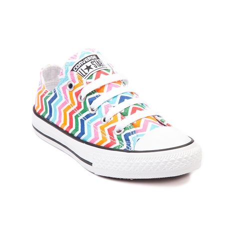 7c8f29a5cbda46 Shop for Youth Converse All Star Lo Multi Chevron Sneaker in White Multi at  Journeys Kidz. Shop today for the hottest brands in mens shoes and womens  shoes ...