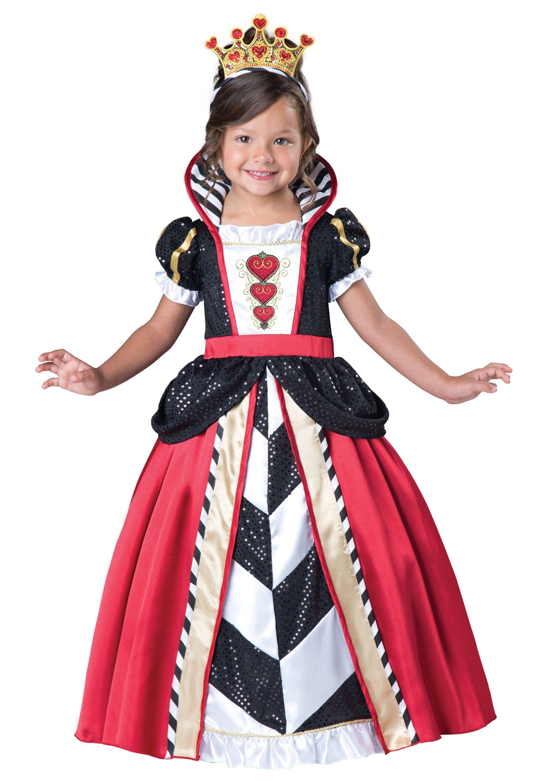 Children/'s Story Book Queen Of Hearts Costume ~ Medium
