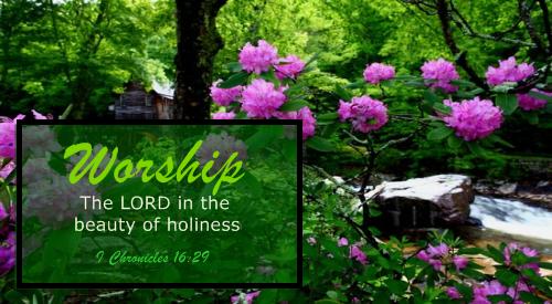 Worship the Lord | sabbath morning worship 9 30 noon we worship ...