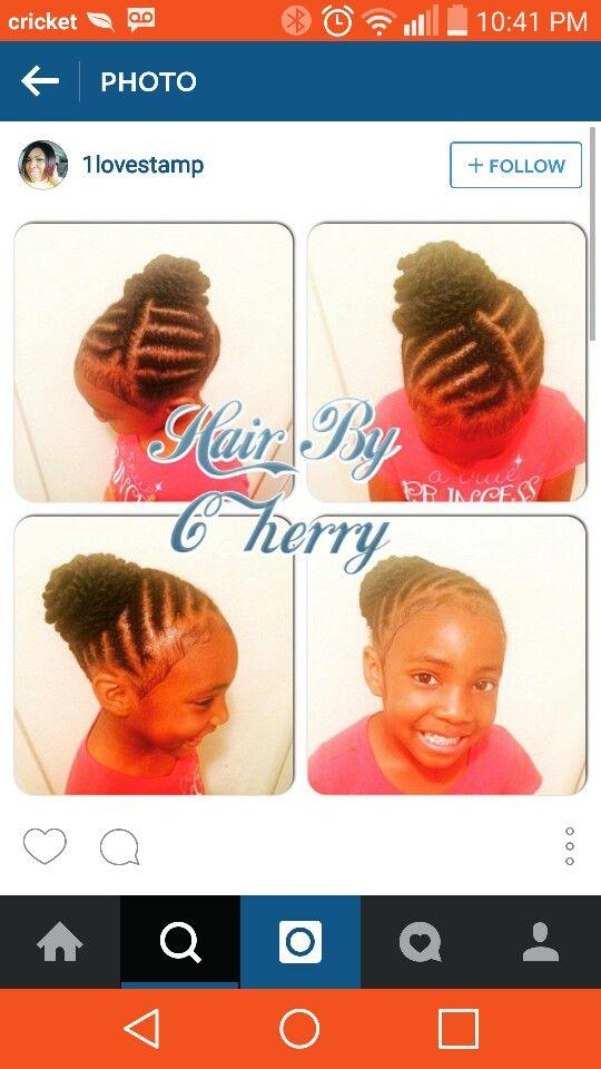 Pin by Just Me on Kiddie Styles &Cornrows | Pinterest | Girl ...