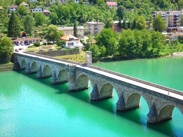Ljepote Bosne I Hercegovine Most Mehmed Pase Sokolovica U Visegradu Places To Travel World Heritage Sites Oh The Places You Ll Go