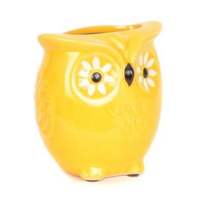 Yellow Owl Vase #kirklands #pinitpretty