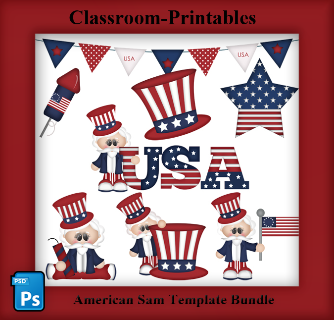 Patriotic Clipart Templates For Clipart And Printable Designers Available At Www Classroom Print Digital Scrapbooking Clipart Clip Art Digital Scrapbooking