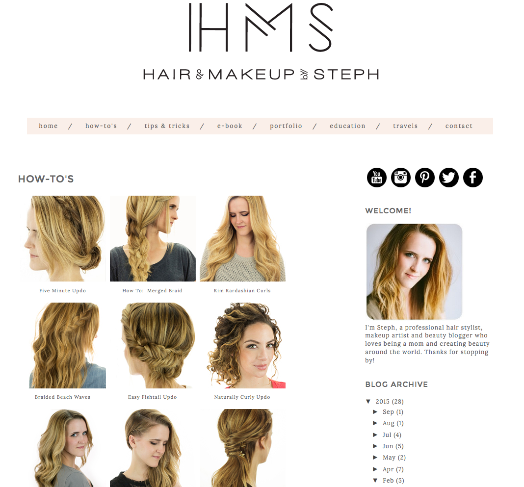 The Best Beauty Blogs Beauty Blogs And Hair Style - Girl hairstyle name list