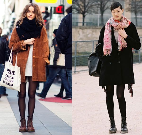 How To Wear Brown Dr Martens Google Search Girl Street Fashion Doc Martens Dr Martens Outfit