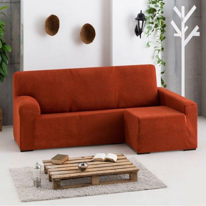 Fundas Chaise Longue Dorian Brazo Largo Eysa, fundas adaptables a cualquier chaise longue, medidas estándar, extensibles de 240 a 280 cm.