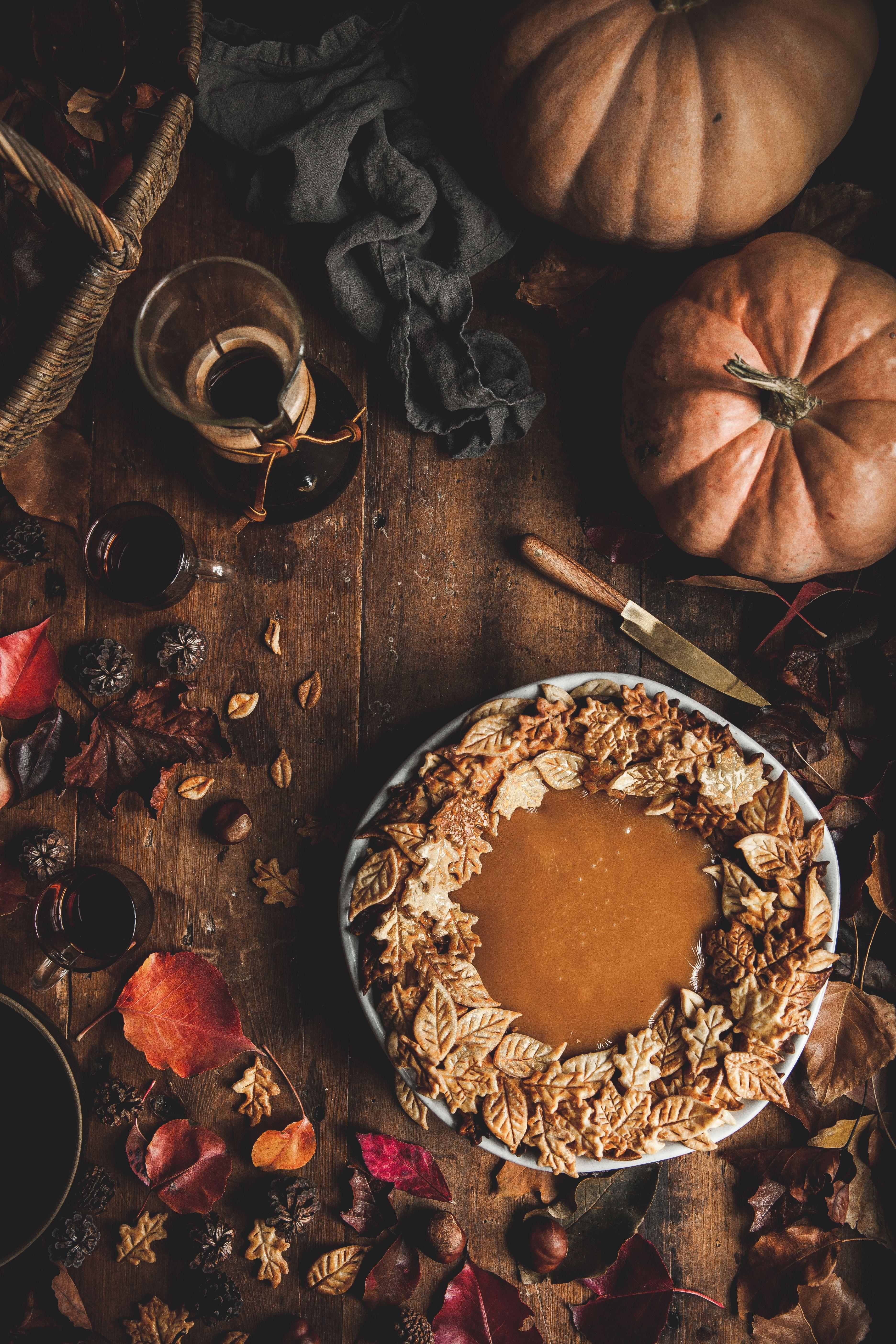 Pumpkin & Caramel Pie - The Kitchen McCabe Pumpkin