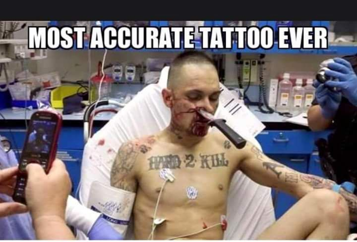 Accurate tattoo meme funny pinterest meme and memes for Funny tattoo memes