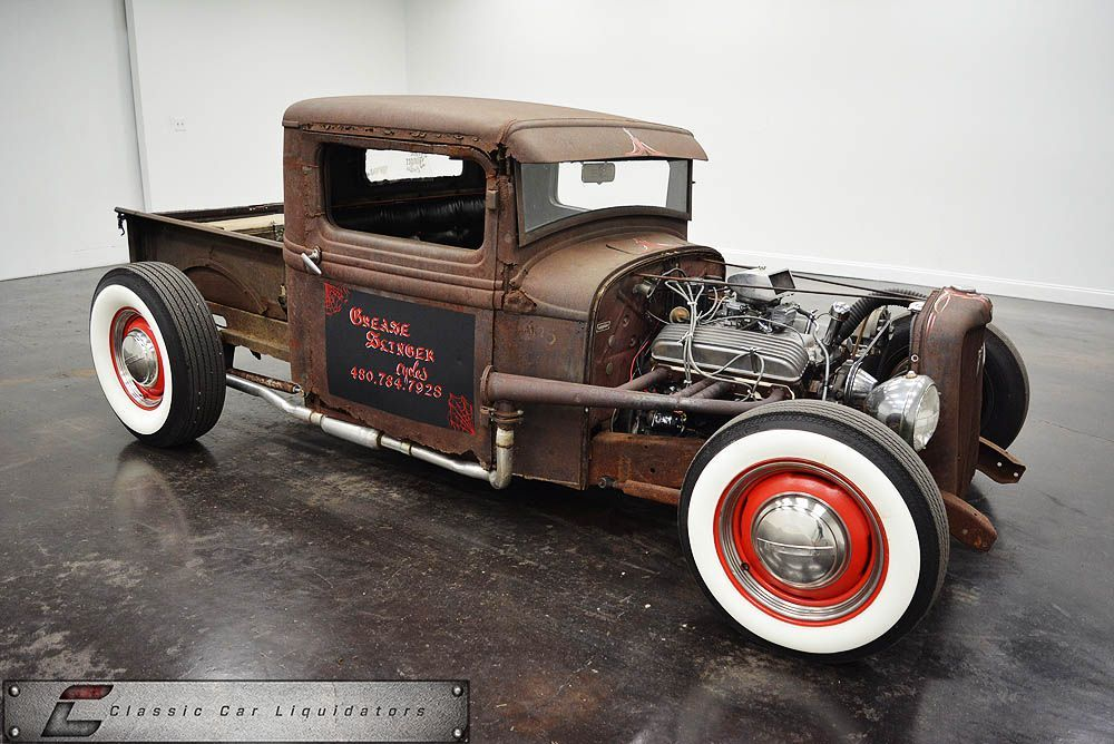 Classic Car Liquidators 1932 Ford Rat Rod Truck 5 Speed #157396 ...
