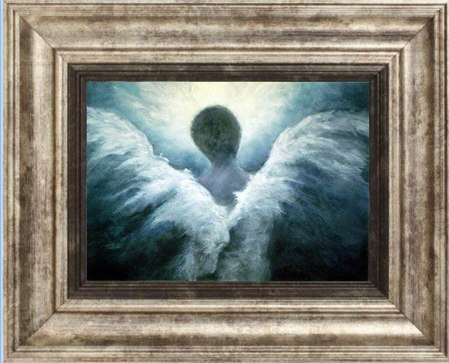 Angel Print Angel Art Angel Guardian Angel Wall Art Home Decor Spiritual Gift Ascending Angel Angel Art Angel Print Spiritual Artwork