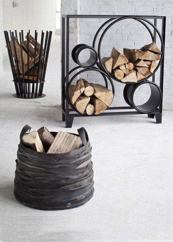 que faire de ses b ches ranger collection et chemin e. Black Bedroom Furniture Sets. Home Design Ideas