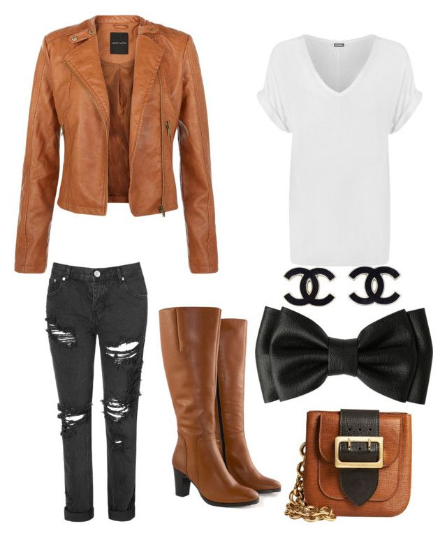 Untitled #1 by a-disney-freak on Polyvore featuring polyvore, fashion, style, WearAll, Glamorous, Jilsen Quality Boots and Burberry