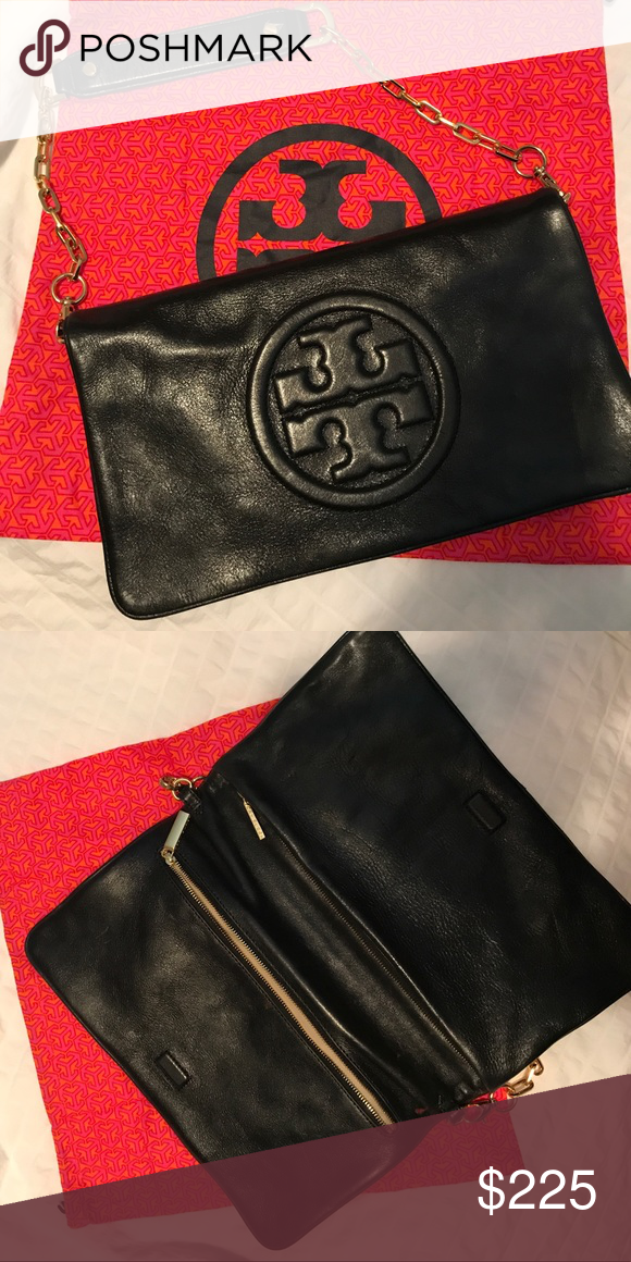 89d0b58aabb Tory Burch Bombe Reva Clutch Shoulder Bag Only been used one time. Tory  Burch Bags Clutches & Wristlets