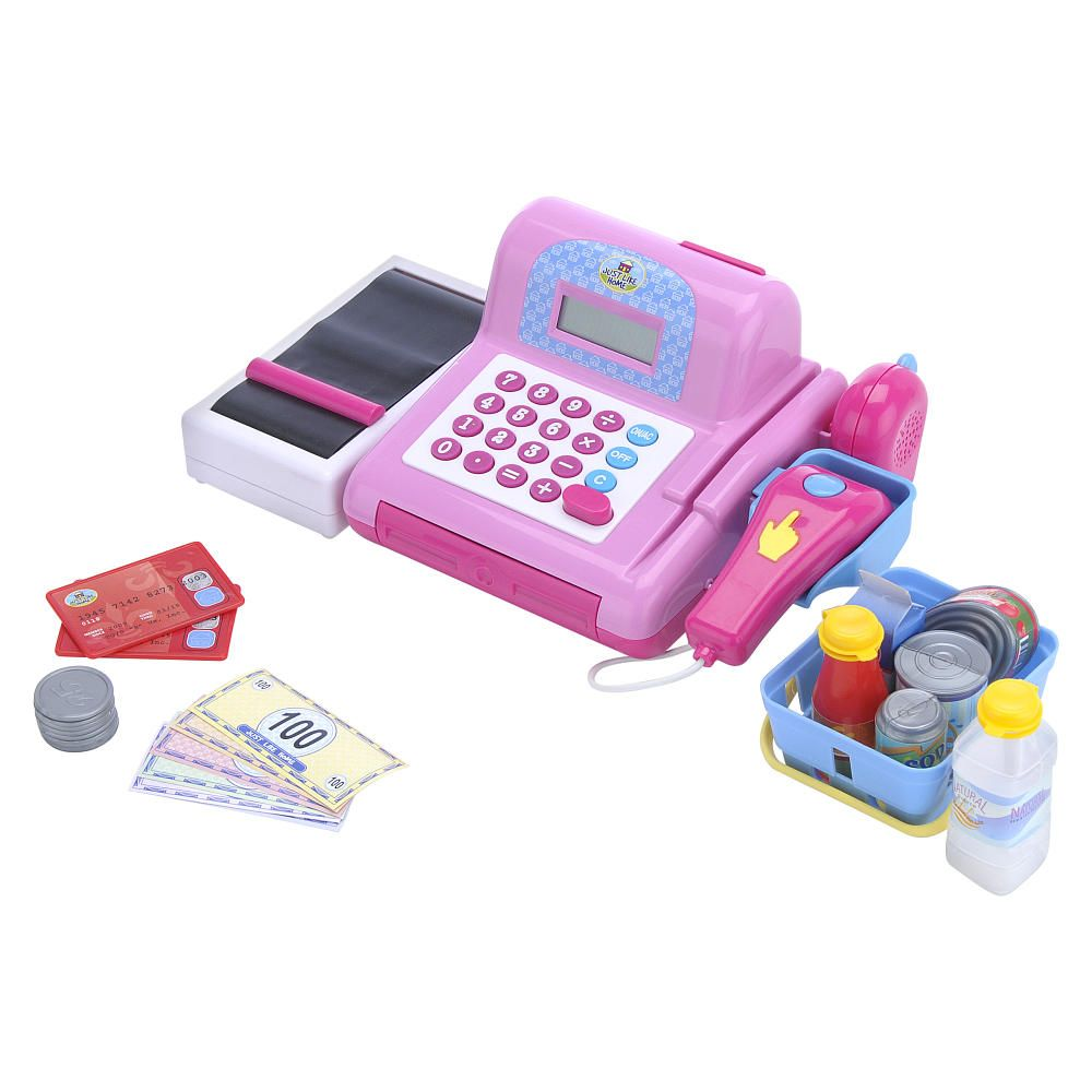 Just Like Home Cash Register - Pink - Toys R Us - Toys