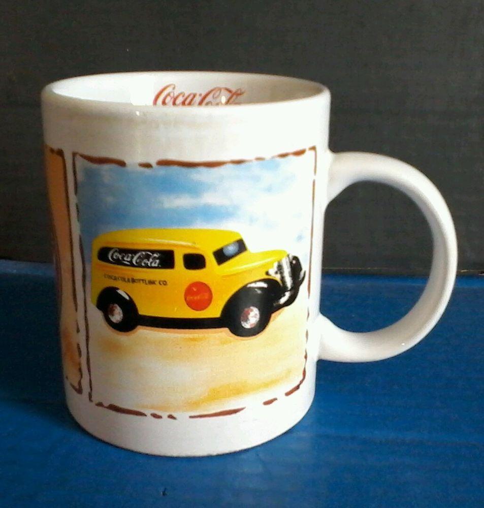 Coca-Cola Coffee Mug GIBSON Car & General Store Collectible Coke Coca Cola Cup #Gibson