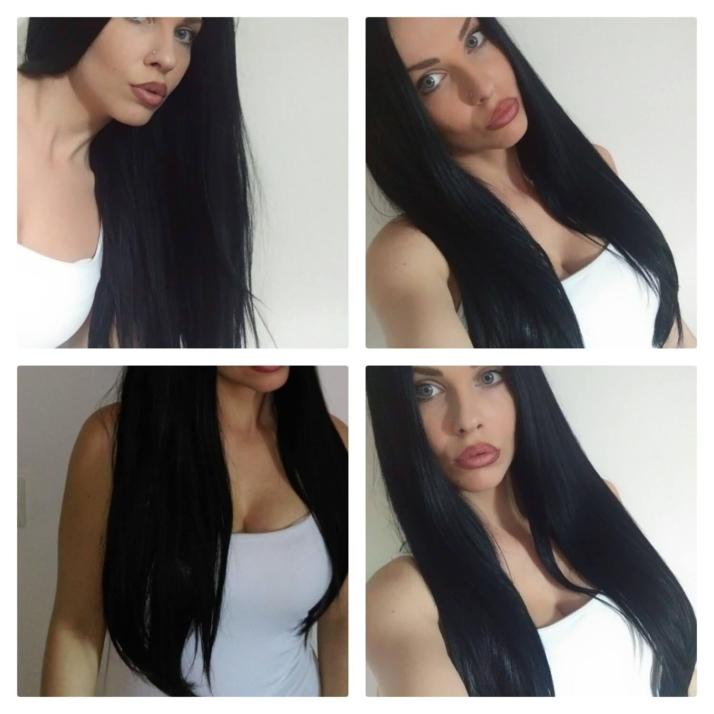 Pin di Extension Capelli su Extension capelli prima e dopo ...