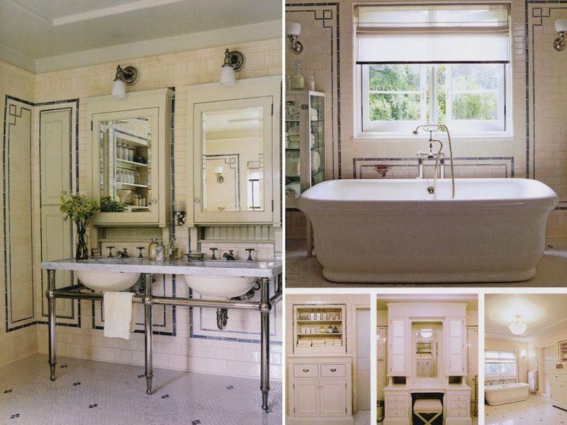 Roman And Williams Roman And Williams Vanity Design Gorgeous Interiors