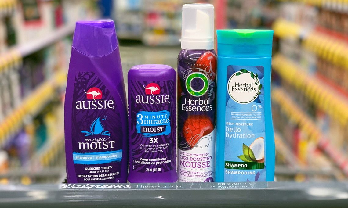 Save Over 27 on 8 Bottles of Aussie & Herbal Essences at
